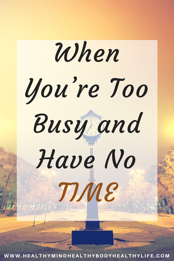 Thoughts on when you feel too busy in life and have no time to do everything you need to. Slow down and imagine how much time is ahead
