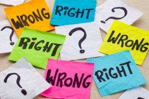 Conceptualizations of Right and Wrong