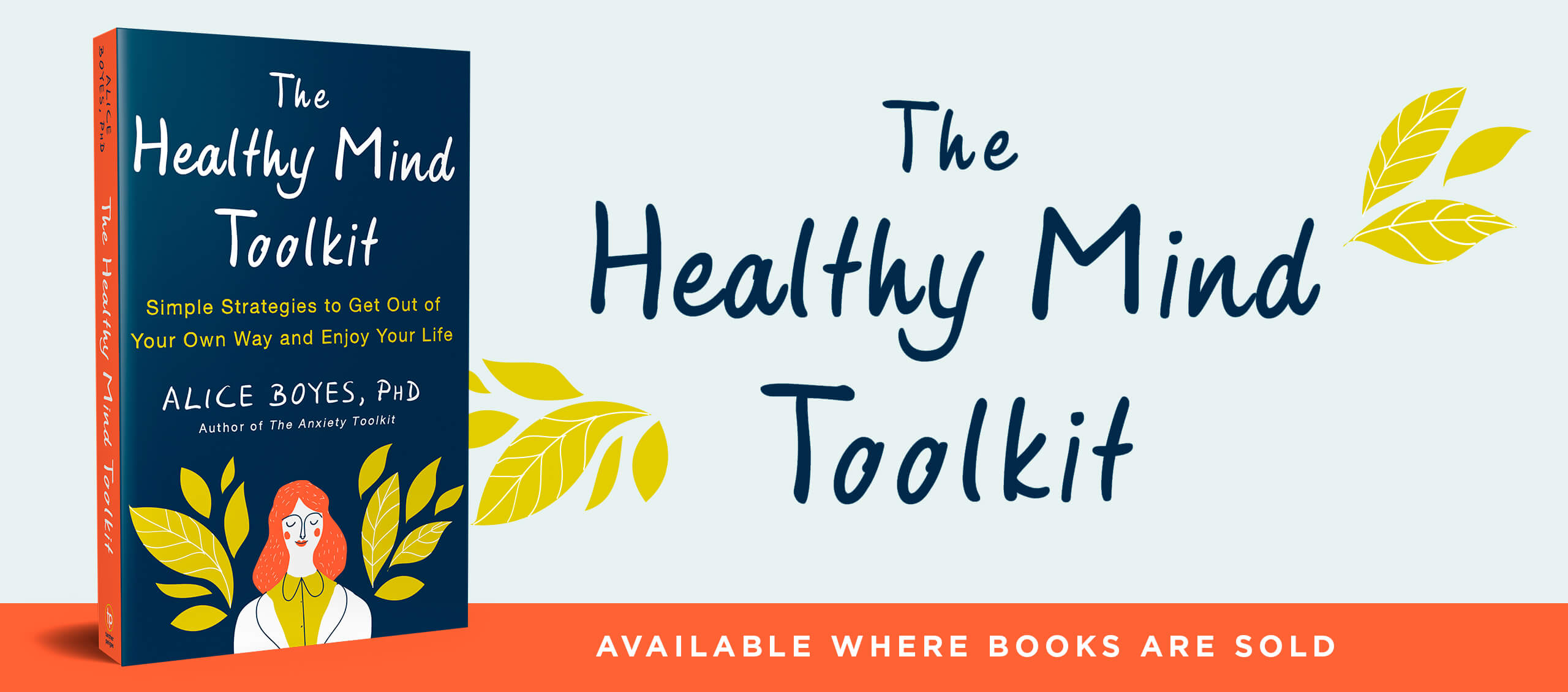 The Healthy Mind Toolkit Book Website By Alice Boyes Phd