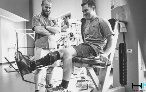 Aprende cómo el entrenamiento oclusivo o con restricción del flujo sanguíneo puede mejorar la recuperación tras la lesión del ligamento cruzado anterior de la rodilla.