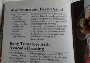 Mushroom and Bacon Recipe