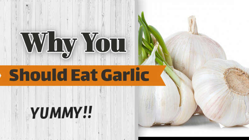 Why you should eat garlic empty stomach?