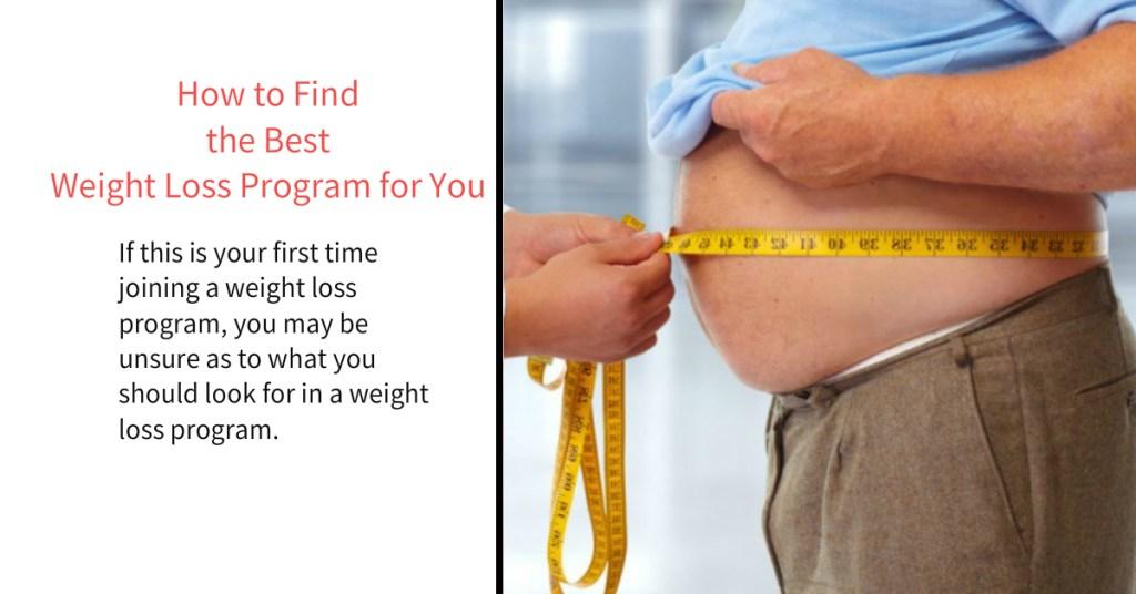 the Best  Weight Loss Program