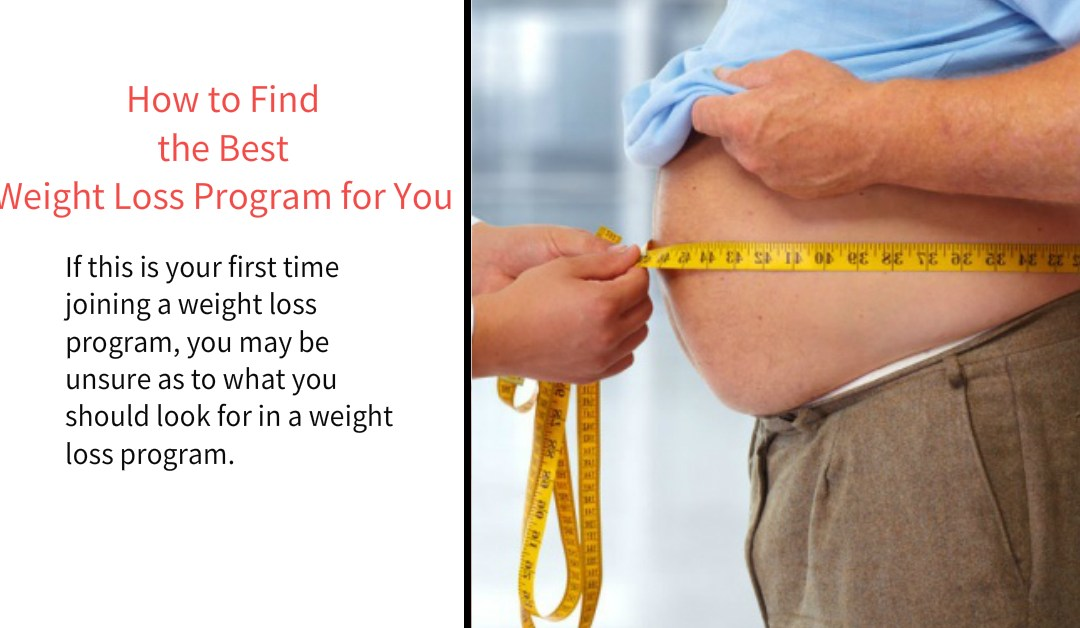 How to Find the Best Weight Loss Program for You