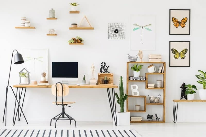 20 Spectacular Home Office Decorating Ideas On A Budget Healthy Savvy Wise