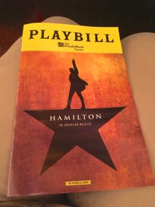 Five Spiritual Snippets from Hamilton