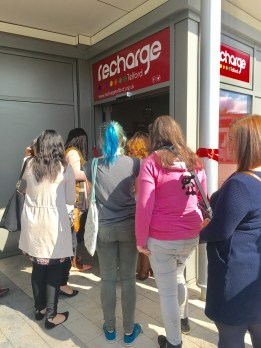 Recharge is now officially open