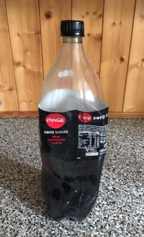 Shane's last ever coke zero