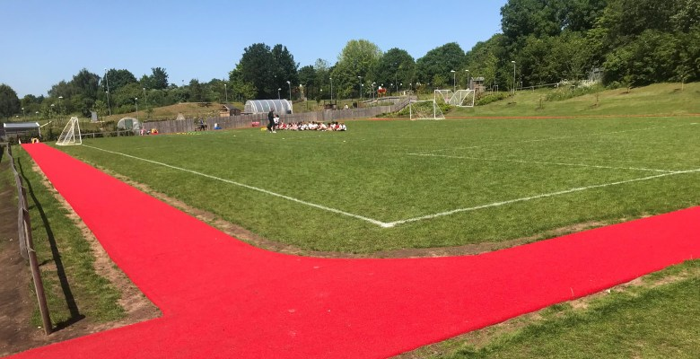 Grange Park Daily Mile track