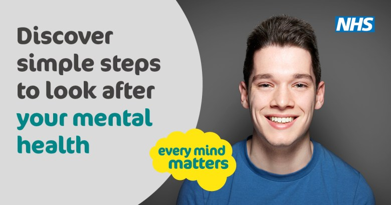Discover simple steps to look after mental health