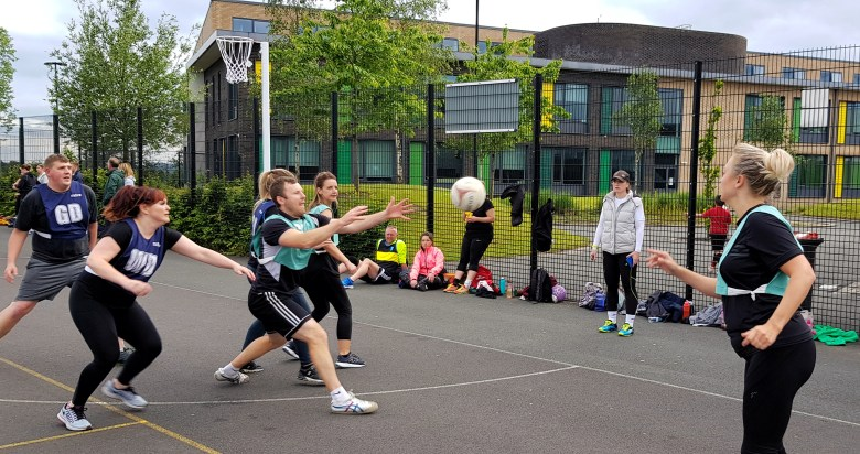 Netball in Let's Get Telford Active