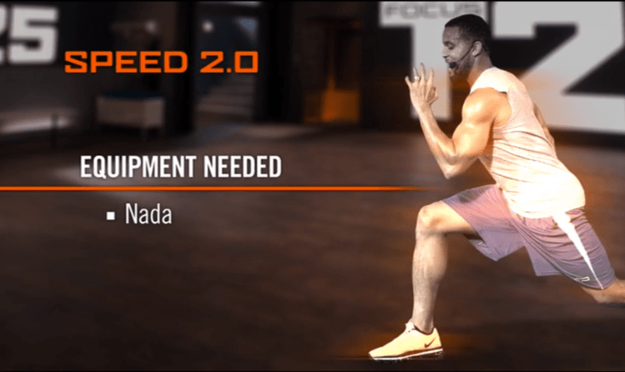The T25 – Beta Speed 2.0 program for best results.