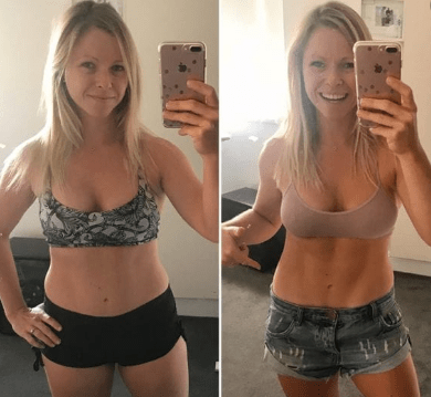 pilates before and after