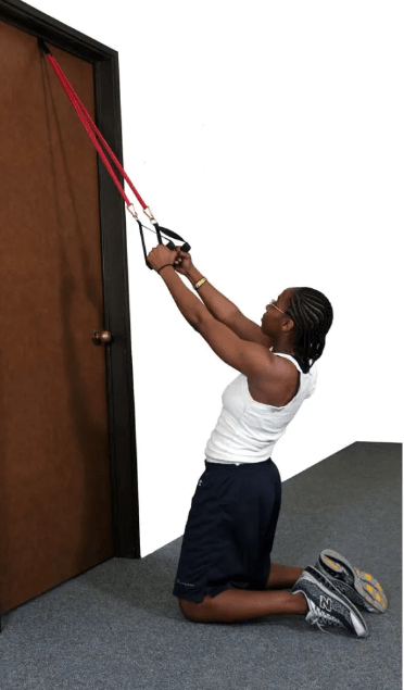 banded pull downs