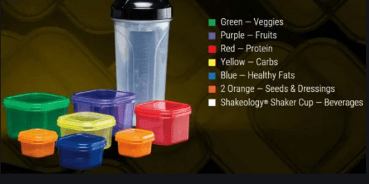 21 day fix how many containers