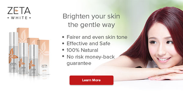 Zeta White only skin lightening system to be used both day and night