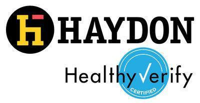 Healthy Verify Certified Haydon