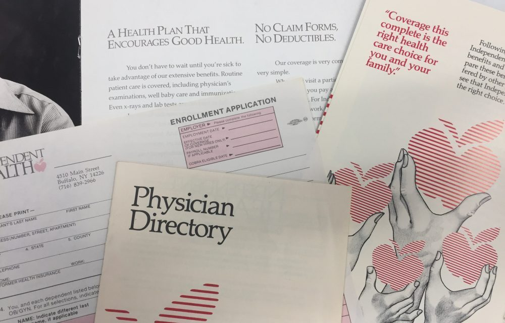 Independent Health looks back 40 years: part 1