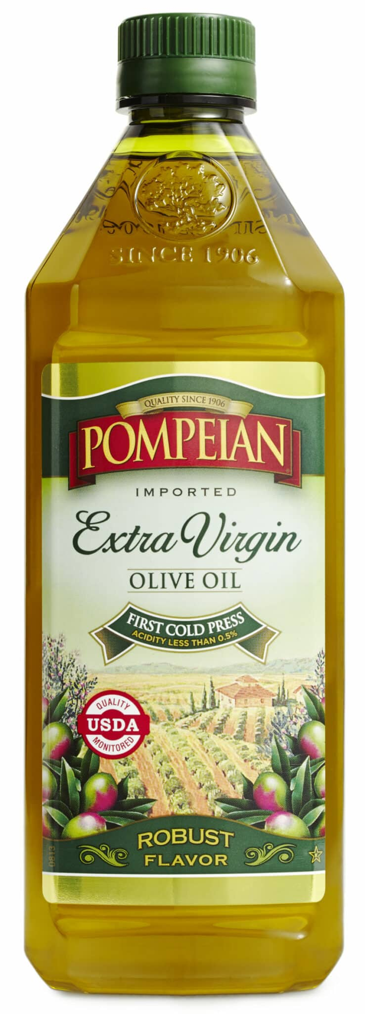 Celebrate National Olive Oil Month With Pompeian