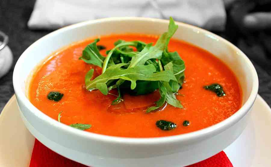 Frugal Meals - Tomato Soup for Lunch