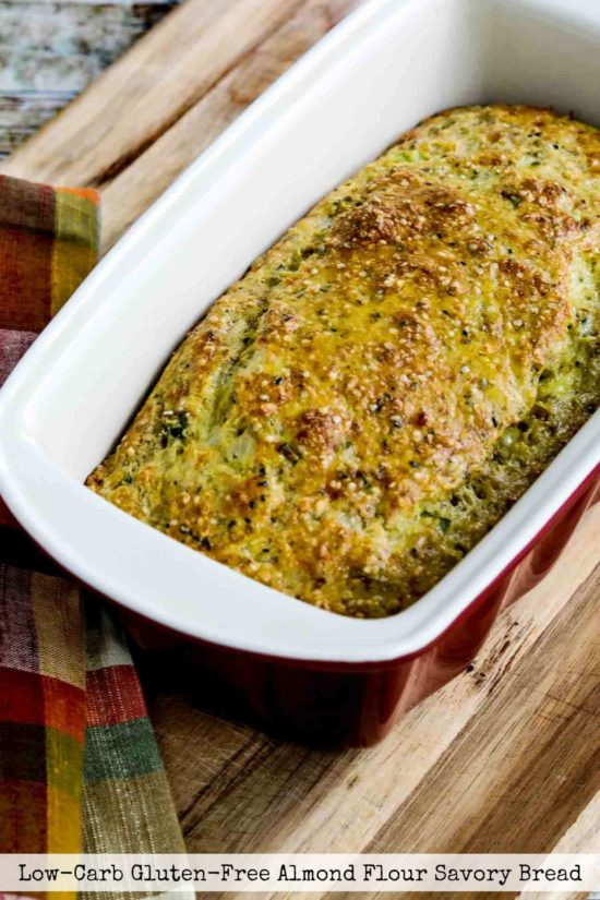 Low-Carb Gluten-Free Almond Flour Savory Bread title photo