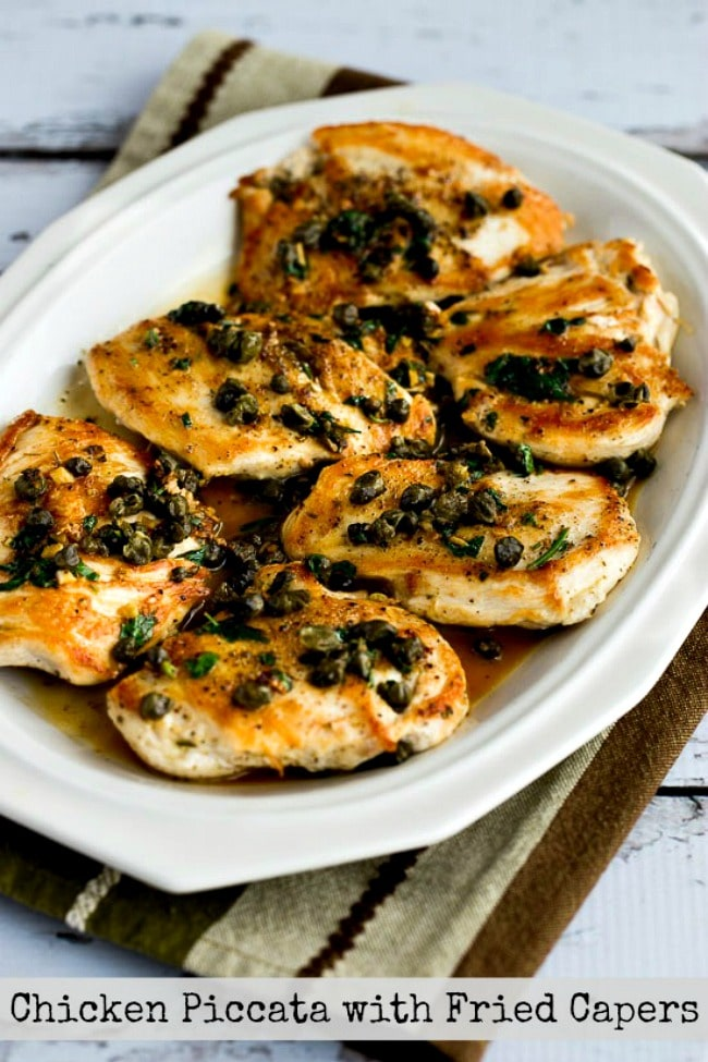 Chicken Piccata with Fried Capers title photo