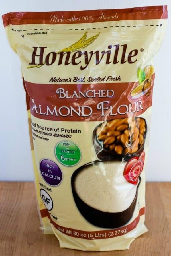 Kalyn's Kitchen Picks: Honeyville Blanched Almond Flour (and 35+ Recipe Ideas Using Almond Flour) found on KalynsKitchen.com