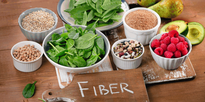 high fiber foods list