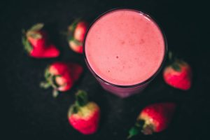 Strawberry protein ketogenic