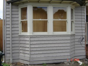 Notch Weatherboard with groove