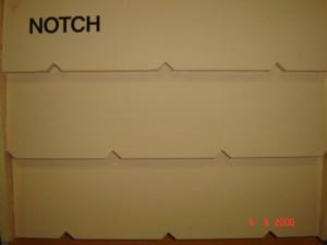 Notch Weatherboard