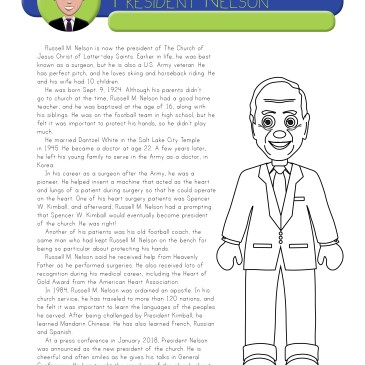 Lds General Conference  Coloring Pages