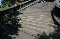 East Princes St Gdns central steps L