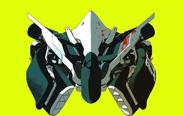 "album art for artist MUST DIE!'s single ""SORROW TECH"""