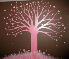 2010 - Pink Tree Mural