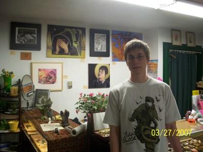 1st Art show with Glen Epstein