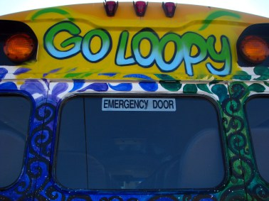 Bus - Go Loopy Letters Charlie & Me