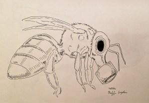 "Tagg Wood, ""Post Destruction Pollinators"" Digital Print, 2016"