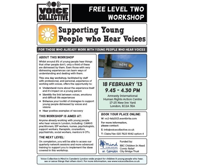 Voice Collective Training - level 2 workshop