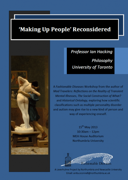 'Making Up People' Reconsidered workshop flyer