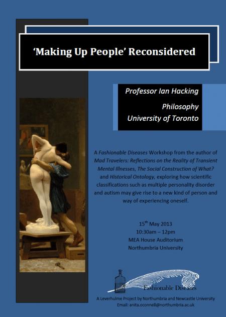 'Making Up People' Reconsidered workshop flyer