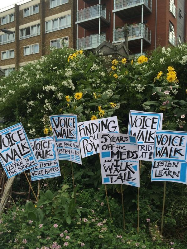 VoiceWalks Placards
