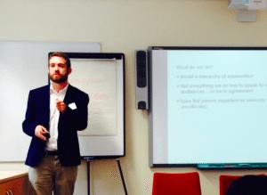 Ben Alderson-Day, Exchange of Minds