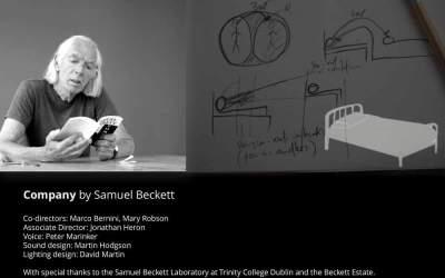 'Company' by Samuel Beckett, Chapel of the Holy Cross, Durham, 16 January – 20 January 2017