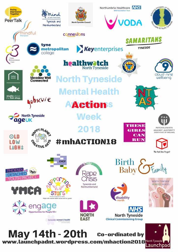 Mental Health Action Week 2018 Launchpad North Tyneside