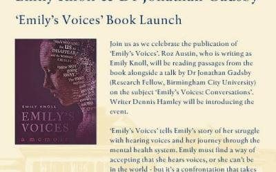 Emily's Voices Book Launch (Oxford, 19 September)