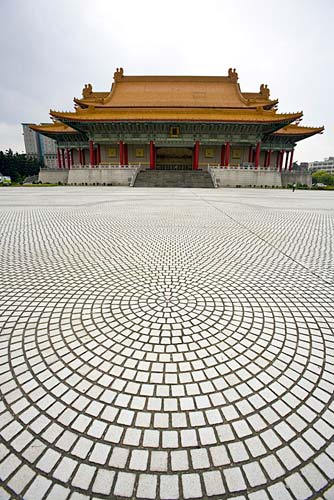 Taipai, Taiwan: temple courtyard, photo by Jake Warga