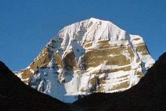 Mt Kailash: Mountain face