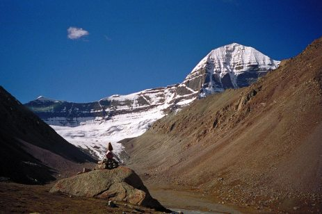 Mt Kailash: Mountain rock cairn
