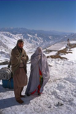 Outside the south of Salang tunnel